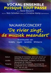 Concerten 22/23-11-2014