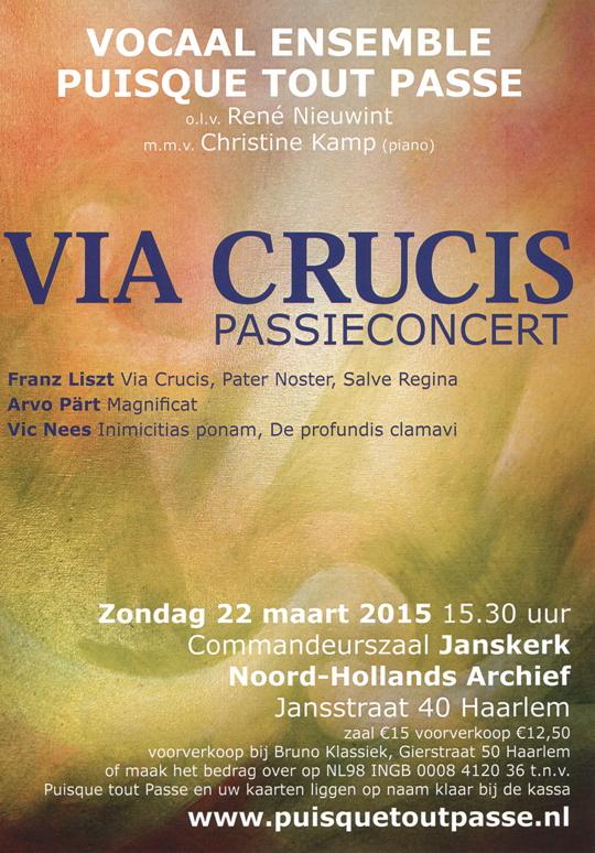 Flyer concert 22 maart 2015