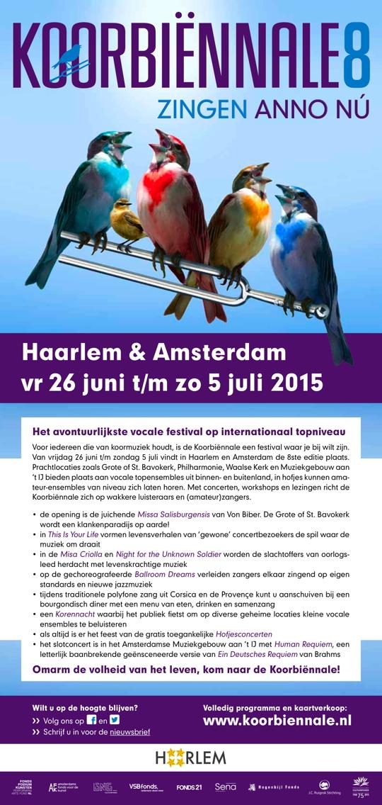 Flyer concert 28 juni 2015