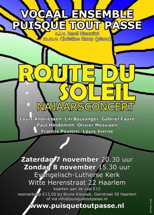 Flyer concert 7 en 8 november 2015