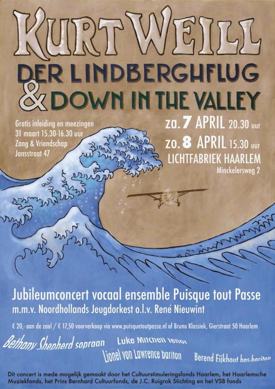 Affiche concerten 7 en 8 april 2018